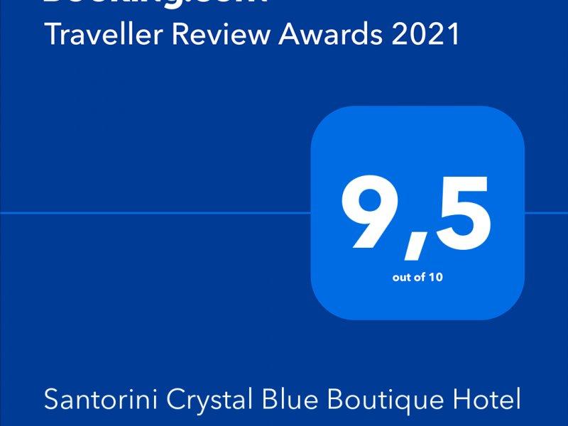 Another booking.com award - 2021